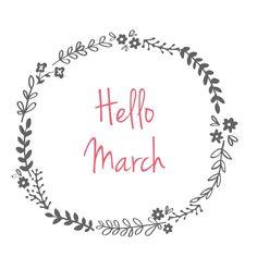 Hello March   elorablue