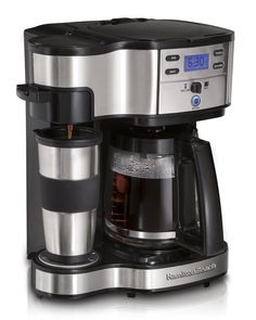 Automatic Programmable Coffee Maker Brewer And Single Serve Coffee Maker