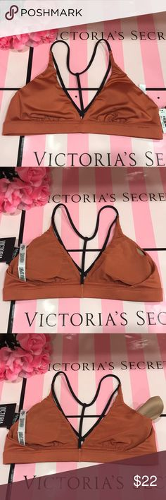 Size M ⚜️ Victoria Sport ⚜️ Bra Racerback Size M ⚜️ Victoria Sport ⚜️ Bra Racerback  🇱🇷 Removable padding. 🇱🇷 Sexy straps. Racerback. 🇱🇷 New with tag, never been worn.  📣📣📣📣📣To my loves💞 🚀 Fast shipping. 🚀 🍀 Smoke and pets free. 🍀 🚫 No trade please!🚫 Victoria's Secret Intimates & Sleepwear Bras