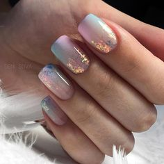 This is the best Easter acrylic nail design for If you haven& figured out what this nail design for Easter. Then these Easter nail designs make your fashionable Easter nails exude charm and elegance. Shellac Nails, Gold Nails, Manicure, Nail Polish, Glitter Gradient Nails, Oval Nails, Pink Nails, Easter Nail Designs, Acrylic Nail Designs