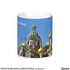 Church of the Savior on Blood, St.Petersburg Russia Coffee Mug