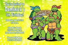 POWER RANGER Birthday Invitation NO by WilsonPhotoAndDesign, $16.00 ...
