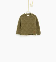 Image 1 of Textured sweater from Zara