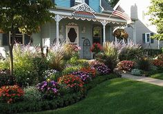 front+yard+flower+beds+designs | Cindy Agan Art: Let the Games Begin!