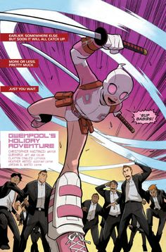 Preview: GWENPOOL SPECIAL #1 - Comic Vine