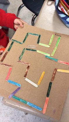 Kinderspiele STEM Magnet Maze Project, Bathroom Taps – Choosing The One Steam Activities, Toddler Learning Activities, Kids Learning, Early Learning, Health Activities, Activities For 2 Year Olds Indoor, Rainy Day Activities For Kids, Cutting Activities, Social Studies Activities