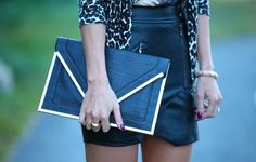 Clutch Armani Exchange  - Blogger Camila Coelho - Super Vaidosa
