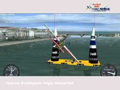 Screencapture from the Red Bull Airrace online Game. Cant Wait, Red Bull, Budapest, Wind Turbine, Stuff To Do, Racing, Animation, Tattoo, Games