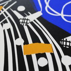 Rachel McGivern Ping Pong Piano Print Club London