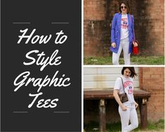 I love wearing a graphic tee, but recently I realized there are so many different ways to wear a graphic tee. Read this post to learn how to style a graphic tee multiple ways plus which graphic tees you should add to your wardrobe STAT.