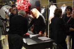 """Jaana Parkkila and Kristiina Karinen exhibition """"Making Different"""" at IVO MILAN Shop."""