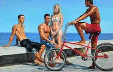 Urban Youth Paintings by Michele Del Campo