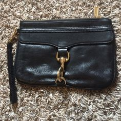 Rebecca minkoff skinny Mac! brand New This is a super cute Rebecca minkoff skinny Mac clutch! I really love it because it looks just like the mini Mac crossbody. I got this on eBay thinking it was a mini Mac because I was looking for a small purse. I'm only selling because I don't prefer clutches. Perfect condition. It was labeled as NWOT. It does not have the tag but it's clearly never used. Rebecca Minkoff Bags Clutches & Wristlets