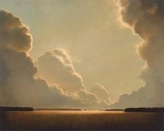 I have a difficult time painting clouds ~ this is amazing! James McLaughlin Way Landscape Art, Landscape Paintings, Cloud Art, Sky Painting, Time Painting, Sky Aesthetic, Paintings I Love, Sky And Clouds, Painting Inspiration
