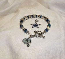 Dallas Cowboys~Choose Charm~Bracelet~Jewelry~Tony Romo