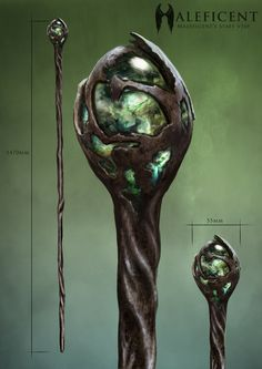 Maleficent's Staff is a magical golden scepter owned and wielded by the evil fairy Maleficent...