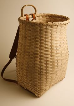 billy ray sims' pack basket ... a thing of beauty