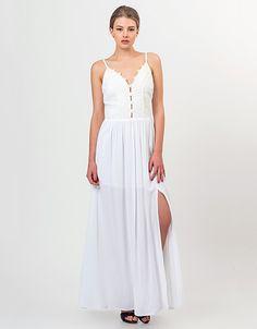 c3b632f95265 Σικάτα και απλά -12 νυφικά φορέματα έως 100 ευρώ [εικόνες]   iefimerida.gr.  E R · ΑΠΟΦΟΙΤΗΣΗ · Μακρύ φόρεμα με μπούστο από δαντέλα   Toi&moi THE  e-FASHION ...