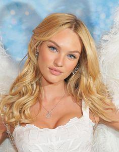 Victoria secret angel, Candice swanepoel, beauty, makeup, blonde hair, beautiful girl