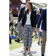 In A Smythe Blazer And Gap Pants - In Tresco, 2016