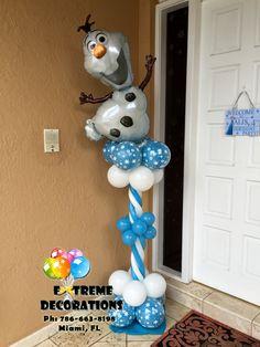 Olaf Frozen balloon decorations