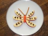 Great ideas for bug themed snacks! You have to scroll down the page quite a bit to get to it.
