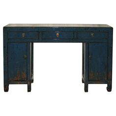 1stdibs | Shanxi Blue Console