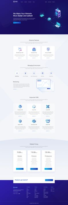 Buy SaaSAge - Multipurpose SaaS PSD Template by ThemeLayer on ThemeForest. SaaSAge is Beautiful Web template for who are looking to create a new app landing, softwate landing, App Showcase, A. Web Layout, Layout Design, Best Landing Pages, Web Design, Helvetica Neue, Hosting Company, Modern Colors, Psd Templates, Website