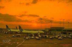 Panama - Aeroporto do Panama ao Amanhecer