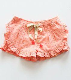 Louise Misha Loulou Shorts, Pink Plumeti