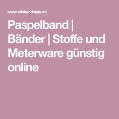 Paspelband | Bänder | Stoffe und Meterware günstig online
