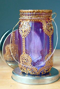 Decorate your own Shimmer and Shine-inspired Genie Jar.