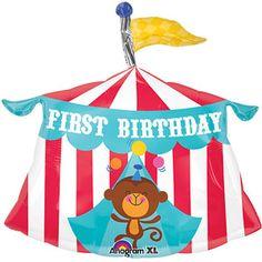 Fisher Price 1st Birthday Circus Tent Balloon