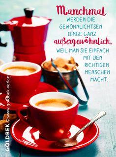 Postkarten - Kaffee. Man sollte öfter mal einfach mit einem lieben Menschen ein Kaffeepäuschen einlegen!