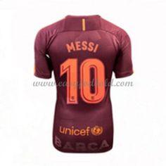 Barcelona Dame Fodboldtrøjer 2017-18 Lionel Messi 10 3. Trøje