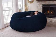 """De nuestros modelos más vendidos """"TOOT"""". Perfecto y cómodo para cualquier espacio. Giant Bean Bags, Large Bean Bags, Bedroom Chair, Bedroom Decor, Oversized Bean Bag Chairs, Hangout Room, Teen Hangout, Bean Bag Sofa, Giant Bean Bag Chair"""