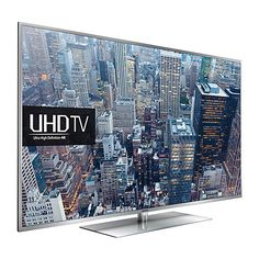 "Buy Samsung UE55JU6410  LED HDR 4K Ultra HD Smart TV, 55"" with Freeview HD/freesat HD and Built-In Wi-Fi Online at johnlewis.com"