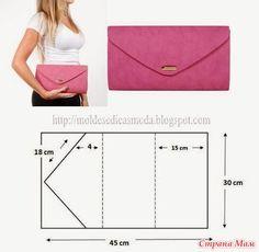 Шьем сумки - много идей и выкроек (из интернета) / Прочие виды рукоделия / Шитье