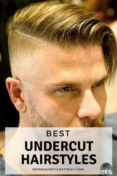 27 Best Undercut Hairstyles For Men Guide) mens hairstyles short popular 2019 - Popular Men's Haircuts and Hairstyles For Men Mens Hairstyles Widows Peak, Best Undercut Hairstyles, Donut Bun Hairstyles, Undercut Styles, Undercut Men, Asian Men Hairstyle, Undercut Pompadour, Men's Hairstyle, Popular Haircuts