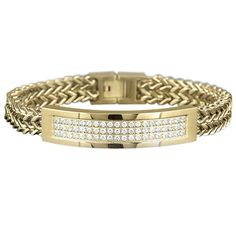 Mens Gold Bracelets With Diamonds Google Search Diamond Bracelet