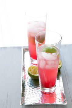 Hibiscus Rum Buck | Annie's Eats