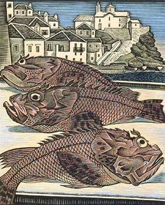 Moschos Georgios, Scorpion-fish in Skopelos, 1950 Art Story, Greek Art, Spiderman, Fish, Superhero, Abstract, Artwork, Fictional Characters, Brown