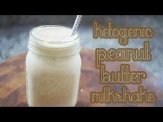 Ketogenic Peanut Butter Milkshake | Cooking Is Pun