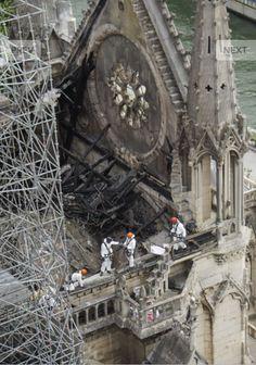 of April Notre Dame Cathedral Paris, France Fire. Cathedral Architecture, Religious Architecture, Gothic Architecture, Cathedral Basilica, Cathedral Church, Paris France, Paris Buildings, Belle France, Oldschool