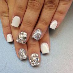 White nails ❤️