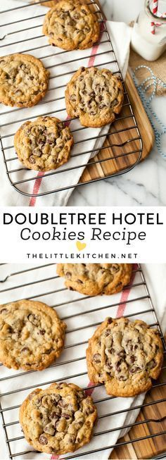Doubletree Chocolate Chip Cookies (love this recipe so much!) #cookies #chocolatechip #baking #cookie