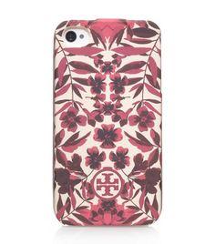 Garnet Soft Phone Case | Womens Tech Accessories | ToryBurch.com