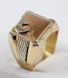 Pánský pečetní prsten s podkovou   Zastavárna a Bazar Zlín - U radnice