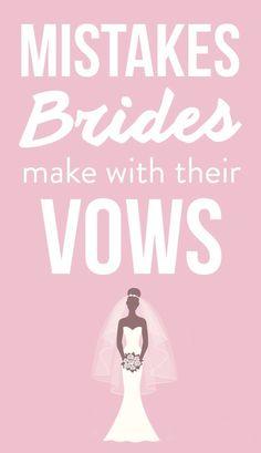 5 Mistakes Brides Always Make When Planning Their Vows Wedding Planning Timeline, Event Planning Tips, Event Guide, Wedding Vows, Wedding Events, Destination Wedding, Wedding Locations, Wedding Things, Wedding Reception