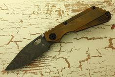 Pacific Edge Cutlery - Strider Knives Duane Dwyer Custom SnG Naval Bronze